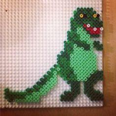 Dinosaur hama beads by josefine_helena