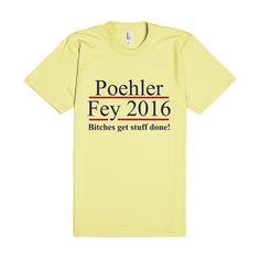Poehler Fey 2016 Election