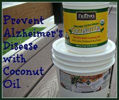 Prevent Alzheimer's Disease with Coconut Oil
