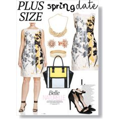 Spring Date: Pretty Plus-Size Style