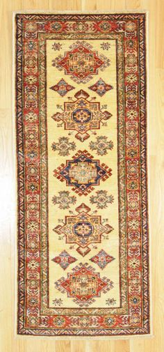 2'6 X 6' Traditional Hand Knotted Rug