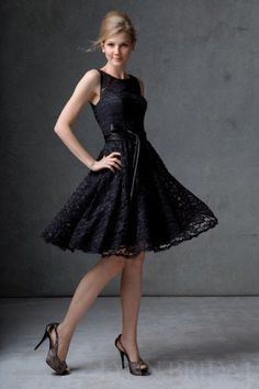 Lela Rose black bridesmaid dress-so excited to find my girls black ...