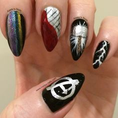Avengers: Thor nails by Keely's Nails