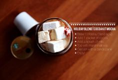 The KCup | Cocoa Kit Mocha. A delicious twist on Starbucks Holiday Blend.