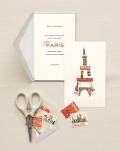 paris-stamp invitation