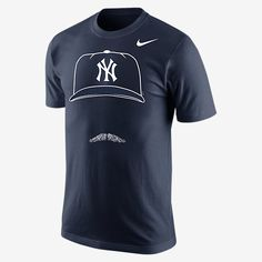 TRIBUTE TO BIG LEAGUE HAIR The Nike Hair-Itage (MLB Yankees) Men's T-Shirt honors a baseball great with a bold trademark silhouette on soft, comfortable cotton. Product Details Rib crew neck with interior taping Fabric: 100% cotton Machine wash Imported