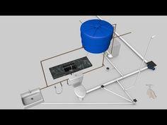 Como fazer a instalação de agua fria e esgoto de banheiro cozinha e área de serviço - YouTube