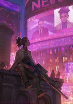 ArtStation - JANET LOREL - THE PEOPLE'S CHAMPION, Benjamin Ee