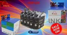 Buy #lilMonk #LC201xl Ink Cartridges High Yield Compatible with BROTHER MFC J460DW,MFC #J480DW,#MFCJ485DW,MFC J680DW,MFC J880DW, #MFCJ885DW at very cheap rate @https://goo.gl/S02R1p