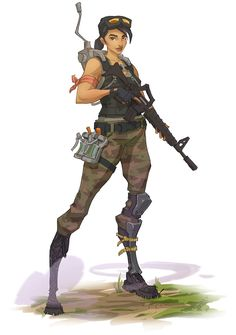 View an image titled 'Female Commando Concept Art' in our Fortnite art gallery featuring official character designs, concept art, and promo pictures. Female Character Design, Art Gallery, Science Fiction Art, Girls Characters, Fortnite, Character Design, Character Art, Game Character Design, Art