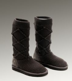 Ugg Womens Classic Cardy Chocolate - UGGs Outlet With Elegant Design, Free Shipping, Free