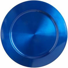 Blue Metal Charger - if we want touches of sapphire / royal blue as mentioned in that article Kaleigh shared