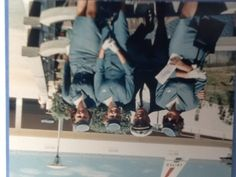 Pan Am crew arriving in Honolulu from Tokyo, mid  60's.