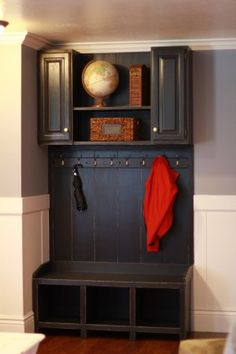 Lovely Mudroom Area