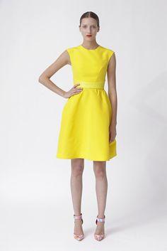 Monique Lhuillier, yellow