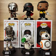 Funko Pop figúrky k filmu Star Wars Funko Pop, Starwars, Decor, Decoration, Decorating, Star Wars, Dekorasyon, Dekoration, Home Accents