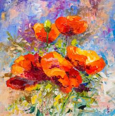 Buy WILD POPPIES, Oil painting by Lyubov Kuptsova on Artfinder. Discover thousands of other original paintings, prints, sculptures and photography from independent artists.