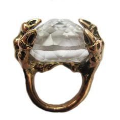 not normally into wicks and sticks type dragony or wizard jewelry, but this ring is badass!  #Aida Bergsen #roseark