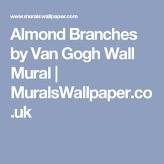 Almond Branches by Van Gogh Wall Mural | MuralsWallpaper.co.uk