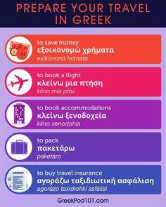 Greek Phrases, Learn Greek, Japanese Phrases, Greek Language, Finland, Saving Money, Traveling By Yourself, Learning, School
