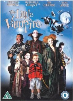 The Little Vampire [DVD]: Amazon.co.uk: Jonathan Lipnicki, Richard E. Grant, Jim Carter, Alice Krige, Pamela Gidley, Tommy Hinkley, Anna Popplewell, Rollo Weeks, Dean Cook, Elizabeth Berrington, Uli Edel, Richard Claus: Film & TV