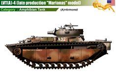 LVT(A)-4 Amtank (late production model)