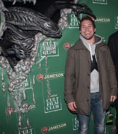 "Rugby Player Isaac Boss at The Jameson Cult Film Club Screening of ""Alien"" at The Mansion House, Dublin Rugby Players, Dublin, Mansion, Boss, Events, Club, Film, Movie Posters, Ideas"