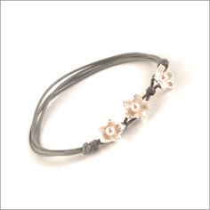 Swarovski Pearl Blossom Friendship Bracelet