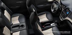 2017 Spark Design: interior seats at Chevrolet Cadillac of Santa Fe.  www.chevroletofsantafe.com
