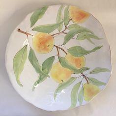 """14"""" peach branch platter"""