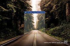 Esta campaña muestra cómo usar el móvil al volante cambia nuestra percepción de la carretera - La Criatura Creativa