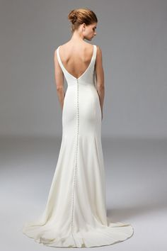 Watters Brides Leona Gown $2095 : size 10 Ivory NOW IN STORE!