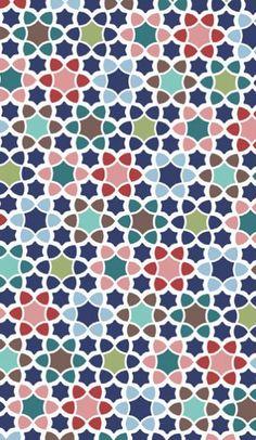 Totes Umbrellas - Moroccan Tile umbrella fabric design