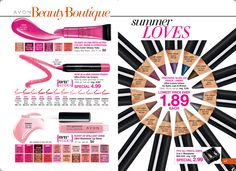Avon Book Campaign 16 I LOVE SALE Shop online with me at https://andreafitch.avonrepresentative.com #lipstick #eyemakeup #makeup