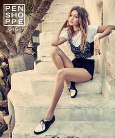 Gigi Hadid for Penshoppe Summer Destination.