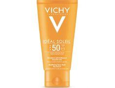 VICHY - Protector solar facial SPF 50 Emulsión Tacto Seco. Precio:10,09€/50ML.