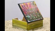 Como Hacer Caja con Pinturas Encaustica- HomeArtTv por Juan Gonzalo Angel