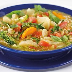 Old Fashioned Barley and Vegetable Soup
