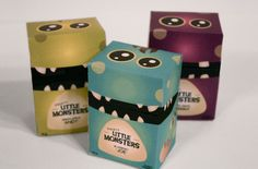 Little Monsters Candy: your daily #packaging smile : ) PD