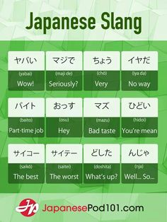 Japanese #slang