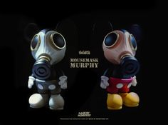 """Made by Monsters x Ron English """"Mousemask Murphy"""" Vinyl figure"""