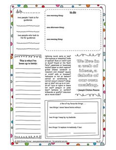50 free printable guided journal pages