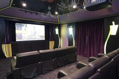 movie room, must have!
