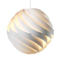 Gubi Turbo L - Suspension - blanc/aluminium/livrée sans source lumineuse Design Shop, Suspension Design, Bright Homes, Contemporary Chandelier, Pendant Design, Nordic Design, Aluminium, Pendant Lighting, Pendant Lamps