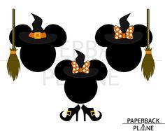 Disneyland Halloween Party, Disney Halloween, Silhouette Studio, Superhero Logos, Stencils, Witch, Cricut, Scrapbooking, Template