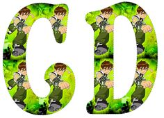 Alfabeto de Ben 10.   Oh my Alfabetos!