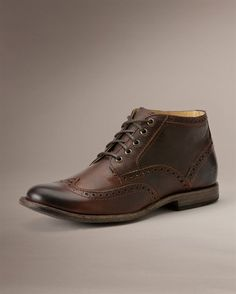 Phillip Wingtip Chukka - View All Men's Boots - Western Boots, Harness Boots, & More - The Frye Company LOVE!! $258
