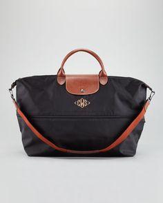 1a105c6aaa2 Love this Longchamp travel bag! My Bags, Purses And Bags, Designer Handbags,