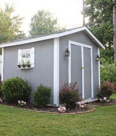 Stunning 20+ Extraordinary Backyard Storage Shed Makeover Design Ideas.