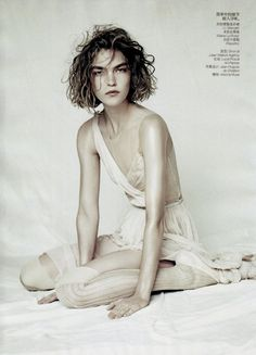 sound of silence: arizona muse by paolo roversi for vogue china april 2011…